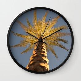 Night in Abu Dhabi  Wall Clock