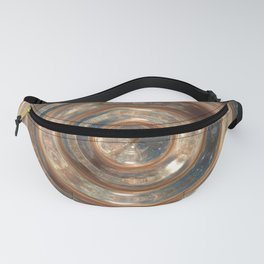 Space Swirl no1 Fanny Pack