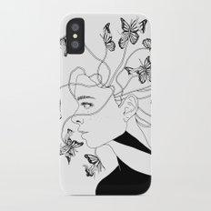Figments II (Head Full of Broken Realities) iPhone X Slim Case