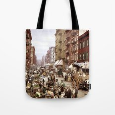 Mulberry Street NYC 1900 Tote Bag