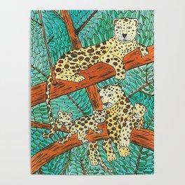 Noah's Ark - Leopard Poster
