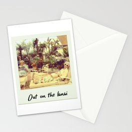 Out On The Lanai Stationery Cards