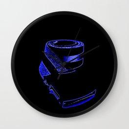 reTro Belt Electric Blue Wall Clock
