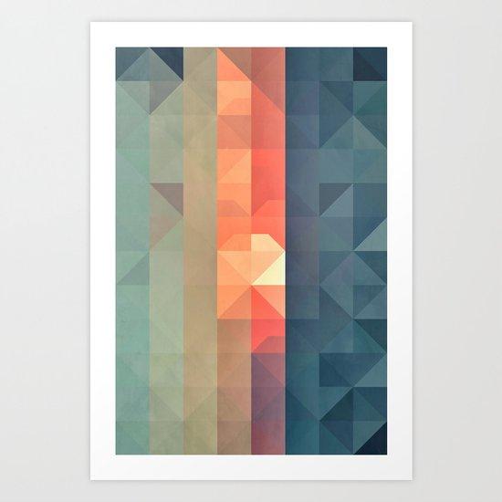 dywnyng ynww Art Print