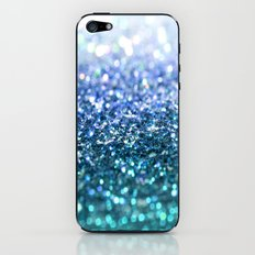 ocean glitter iPhone & iPod Skin