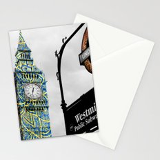 Funky Landmark - London Stationery Cards
