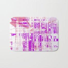 Abstract design 01 Bath Mat