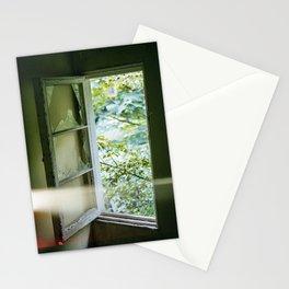 Window Light Leak Stationery Cards