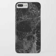 Real Black Marble iPhone 7 Plus Slim Case