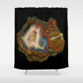 Condor Agate Sagenite Shower Curtain