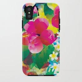 Hawaiian jungle iPhone Case