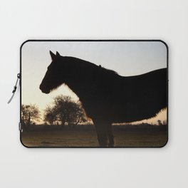 Backlit horse Laptop Sleeve