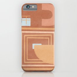 Earth paths iPhone Case