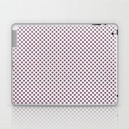 Grape Nectar Polka Dots Laptop & iPad Skin