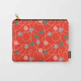 Holiday Pom-Poms Carry-All Pouch