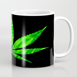 Weed : High Times Vibrant Green Coffee Mug