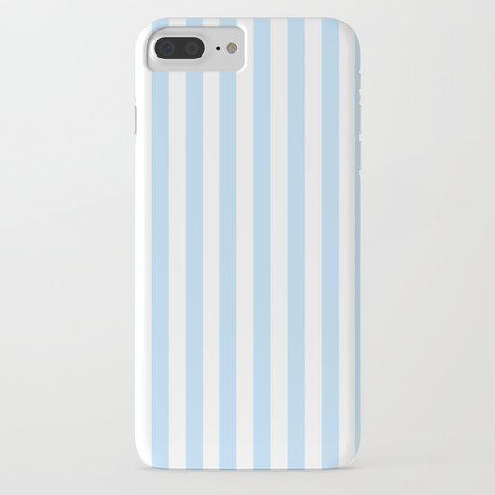 Classic Seersucker Stripes in Blue + White by elliottdesignfactory