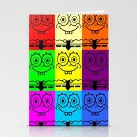 spongebob Stationery Cards featuring Spongebob by chauloom