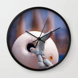 Fishing accessories in Neuharlingersiel Germany Wall Clock