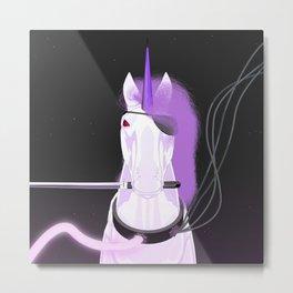 Unicorn Katana Metal Print