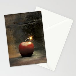 Apple bomb Stationery Cards