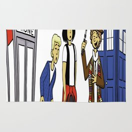 Bill & Ted & Who Rug