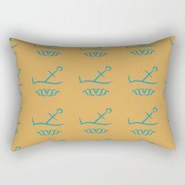 Sunken Anchor Rectangular Pillow