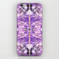 lilac stone flower iPhone Skin