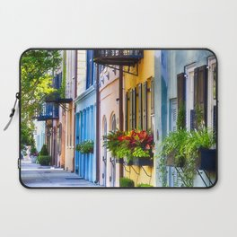 Rainbow Row I Laptop Sleeve