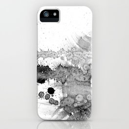grey force, grey electricity iPhone Case