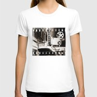 theater T-shirts featuring Turnage Theater by Justin Alan Casey