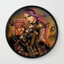 HELL RIOT  comic book cover #0 Wall Clock