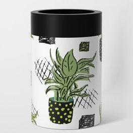 Potted House plant Can Cooler