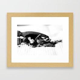 Broken 1 Framed Art Print