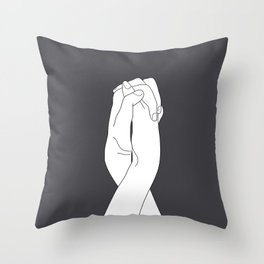 Never Let Me Go III Throw Pillow