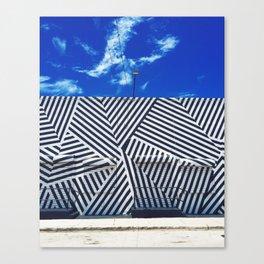 Wynwood Black & White Canvas Print