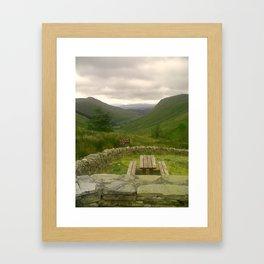 Valley View Framed Art Print