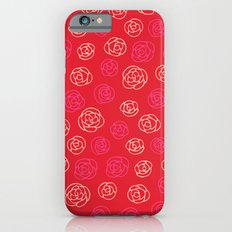 Valentine roses 1 iPhone 6s Slim Case