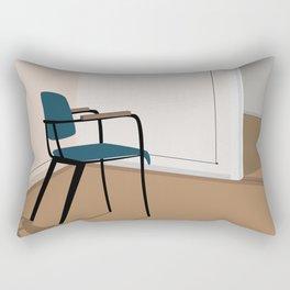 Vintage retro chair Rectangular Pillow
