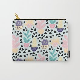 Pastel Cacti Carry-All Pouch