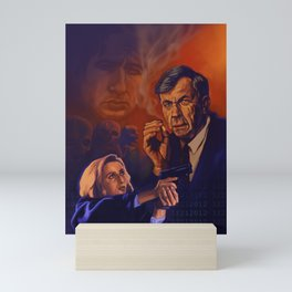 I Want To Believe - Cigarette Smoking Man - Trust No One - The Truth Is Out There Mini Art Print
