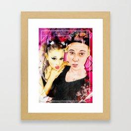 ARIANA JUSTIN Framed Art Print