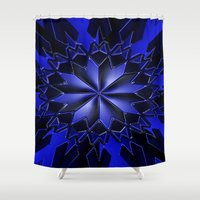 shining Shower Curtains featuring Shining... by Cherie DeBevoise