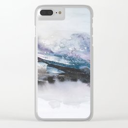 the beauty of impermanence II Clear iPhone Case