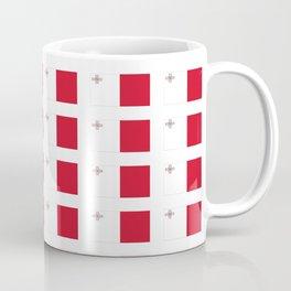 flag of Malta-maltese,maltes,malti,valletta,birkirkara,mosta,Gozo,mediterranenan Coffee Mug