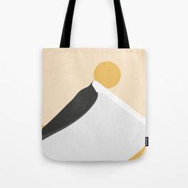 Abstract Dune - Golden Desert Tote Bag