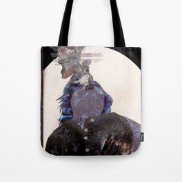 Smoking Lady Tote Bag