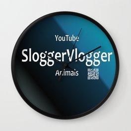 SloggerVlogger Animals Wall Clock