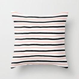 Modern lines  Throw Pillow