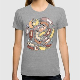 Adorable Otter Swirl T-shirt